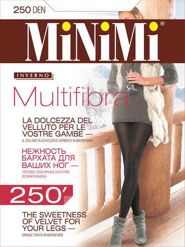 Колготки жен. 250 Multifibra Minimi