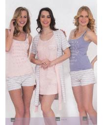 Комплект жен. Hays 5546 (халат+сорочка)