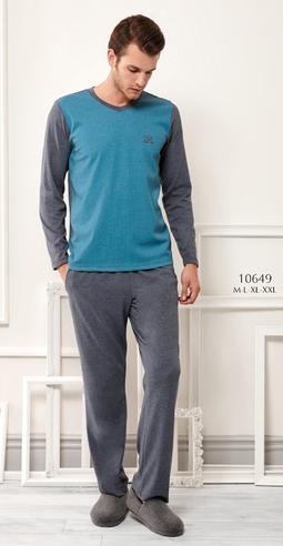 Комплект муж. RM 10649 (футболка+брюки)