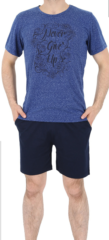 Пижама муж. Gazzaz 4908 (футболка+шорты)