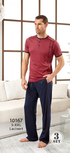 Комплект муж. RM 10167 (футболка+брюки+шорты)