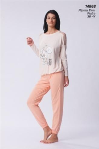 Комплект жен. AQ 14868 (футболка+брюки)