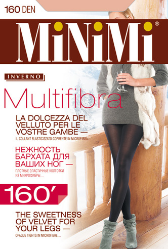 Колготки жен. 160 Multifibra (Moka) Minimi