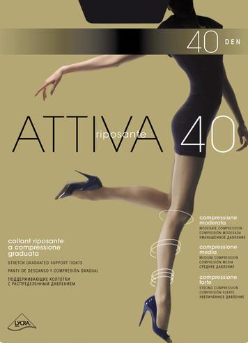 Колготки жен. 40 ATTIVA (Camoscio)  OMSA