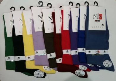 Носки муж. NIS 404С Цветные