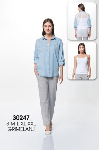 Комплект жен. RM 30247 (руб+майка+бр) АКЦИЯ