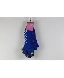 Носки-тапочки жен. 01 (отворот)