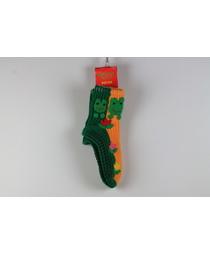 Носки-тапочки жен. 17 (аппликация)