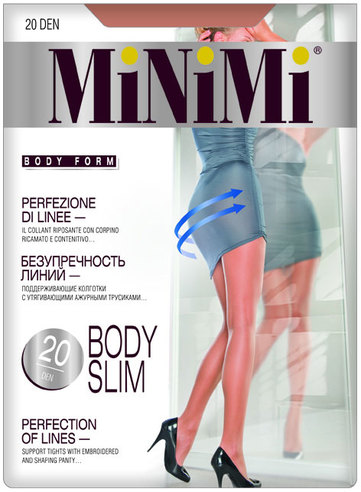 Колготки жен. 20 Body Slim (Fumo)  Minimi