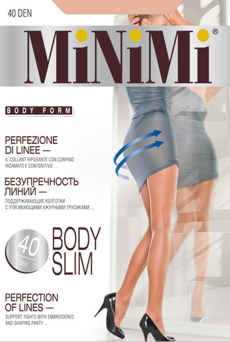 Колготки жен. 40 Bodi slim (Daino)  Minimi