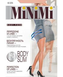 Колготки жен. 40 Body slim (Fumo)  Minimi