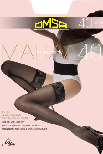 Чулки жен. 40 Malizia (Bianco) OMSA