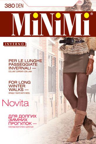 Колготки жен. 380 Novita (Nero)  Minimi